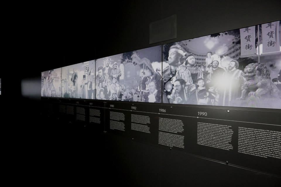 Luciano Pavarotti Exhibition 2013